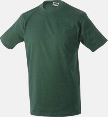 Mörkgrön Barn t-shirtar av kvalitetsbomull med eget tryck