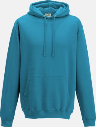 Turquoise Surf Billiga collegetröjor i unisexmodell - med tryck