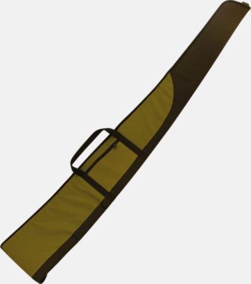 Grön Långa vapenfodral med tryck