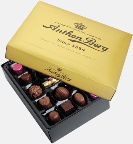400 gram Anthon Bergs guldask med chokladpraliner