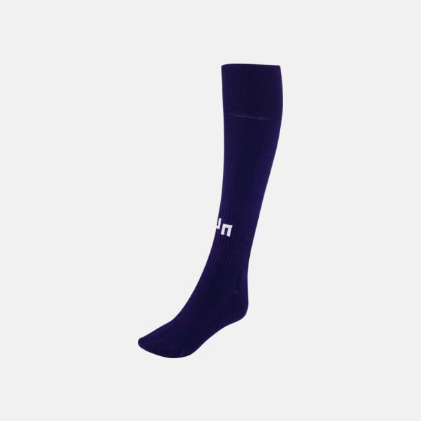 Marinblå Fotbollsstrumpor för föreningar och företag