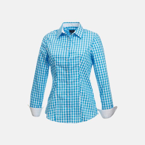 Damblus Rutiga bomullsskjortor & -blusar med reklamtryck