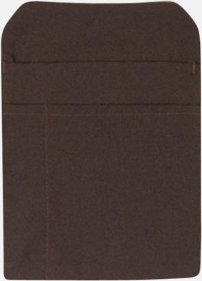 Chocolate Förklädesfodral med reklamtryck