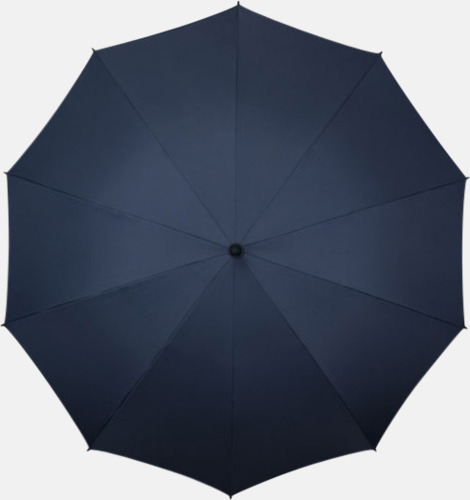 Marinblå (PMS 296C) Stora golfparaplyer med eget tryck