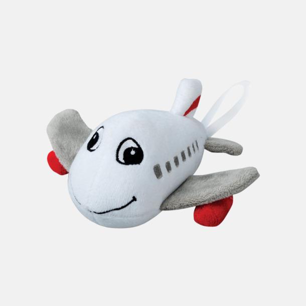 Flygplan Små maskotar att hänga i bilen - med reklamtryck