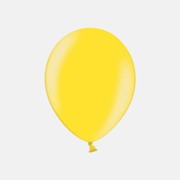 082 Citrus Yellow (PMS 101 U) Ballonger i unika färger med eget tryck