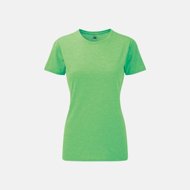 Green Marl (dam) Färgstarka t-shirts i herr- och dammodell med reklamtryck