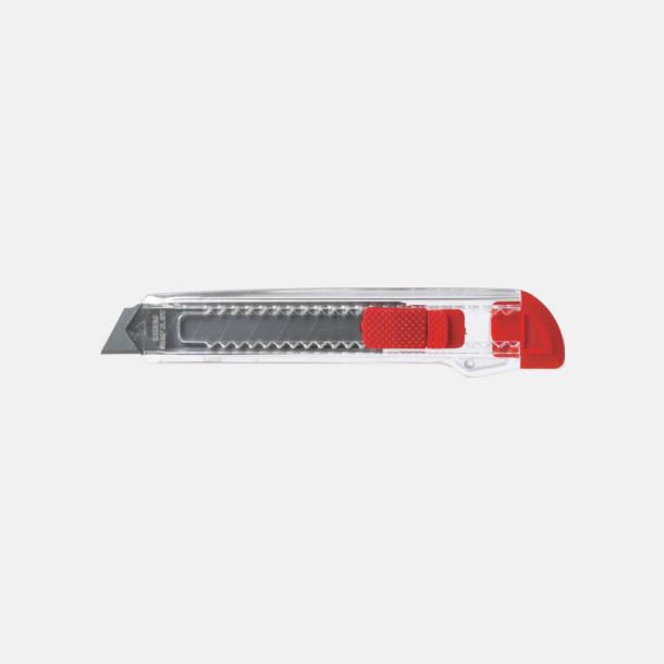 Röd Billiga brytbladskniv med reklamtryck