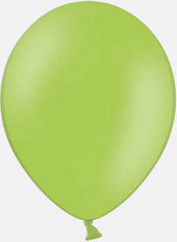 008 Apple green pms 374 Reklamballonger med fototryck