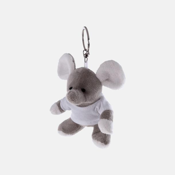 Elefant Nyckelringsmaskotar med reklamtryck