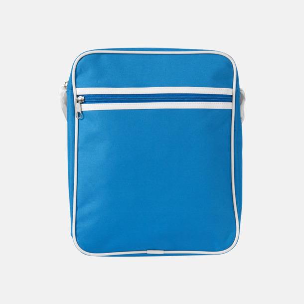 Aqua Liten väska med retrokänsla - med reklamtryck