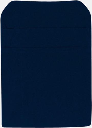 Marinblå Förklädesfodral med reklamtryck