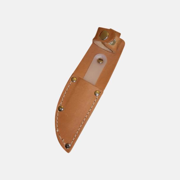 Läderfodral Scoutknivar med björkskaft