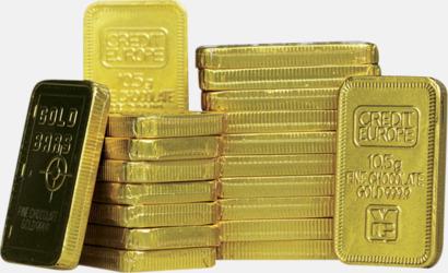 Guld Guldchoklad med eget tryck