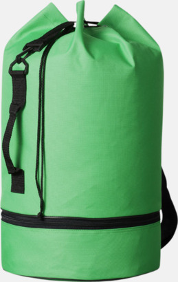Klargrön Sjömansväskor i polyester med tryck