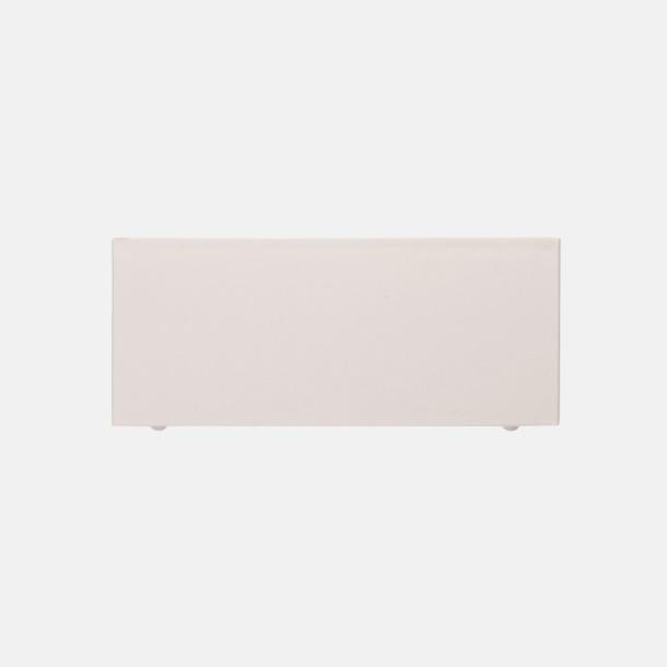 Baksida Plastkub med papper - med reklamtryck