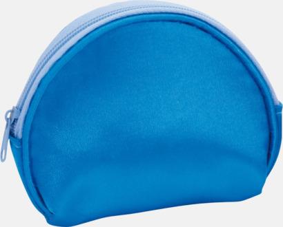 Blå Billiga sminkväskor med tryck