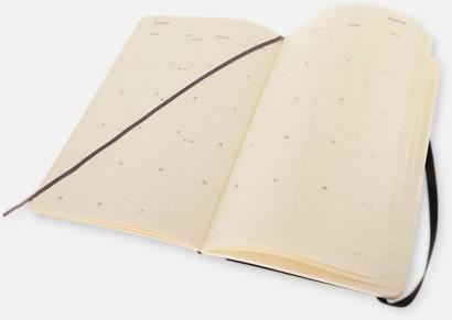 Pocket, large Månadskalendrar i 3 storlekar från Moleskine med reklamtryck