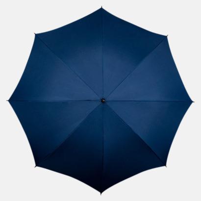 Marinblå Kompakt Paraplyer - Med tryck