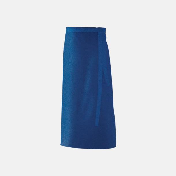 Royal Blue (90 x 60 cm) Förkläden i 5 varianter med reklamtryck