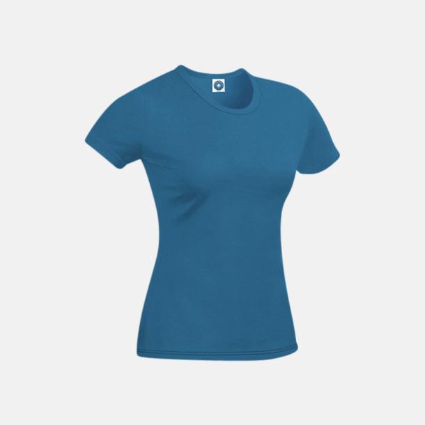 Indigo T-shirt i ekologisk bomull