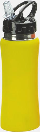 Gul Vattenflaskor i många färger - med reklamtryck