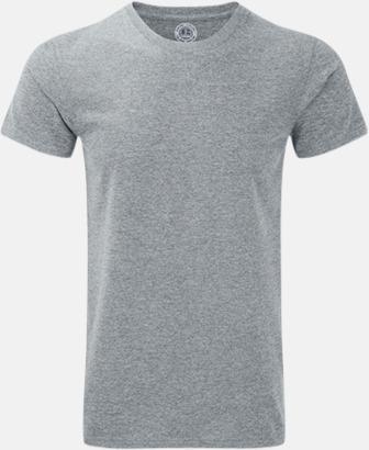 Silver Marl (herr) Färgstarka t-shirts i herr- och dammodell med reklamtryck