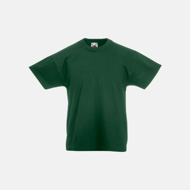 Bottle Green T-shirt barn - Valueweigth barn t-shirt