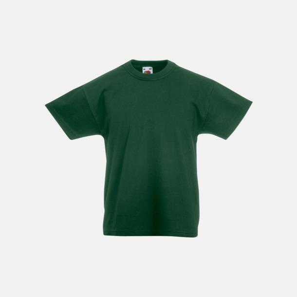 Bottle Green T-shirt barn - Valueweigth barn t-shirt