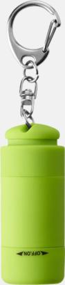 Grön Laddningsbara ficklampor med USB-nyckel