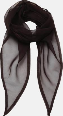 Brun Tunna accessoarscarfs i många färger