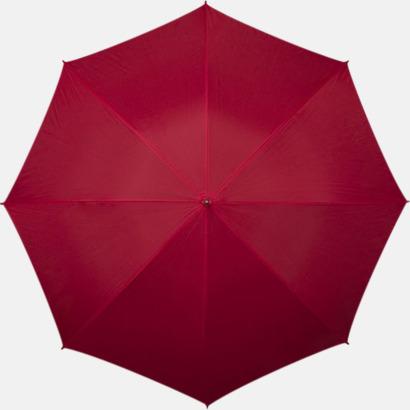 Röd Winchester - Paraplyer med tryck