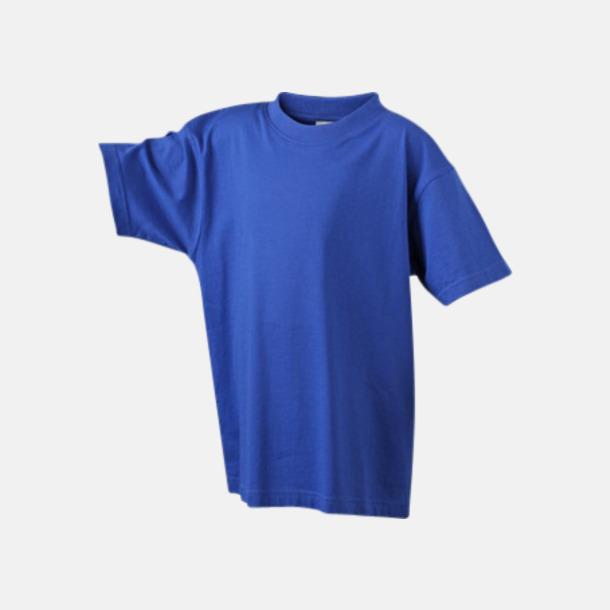 Dark Royal Barn t-shirtar av kvalitetsbomull med eget tryck