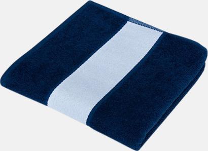 Marine Blue Handdukar i flera storlekar - med sublimeringstryck