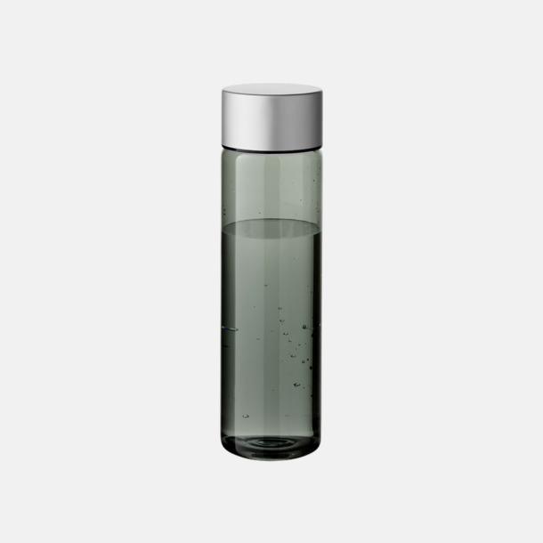 Cylinderformade vattenflaskor med reklamtryck