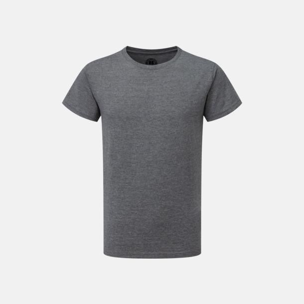 Grey Marl (pojke) Barn t-shirts i u- och v-hals med reklamtryck