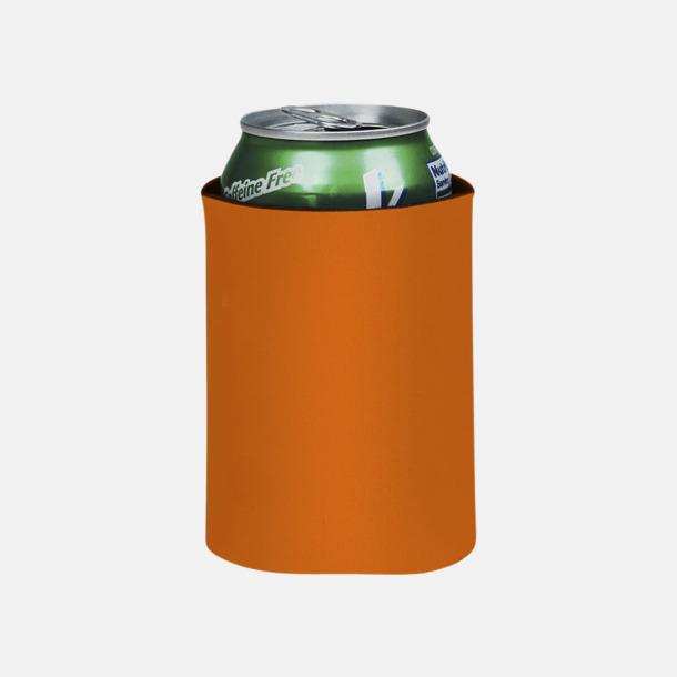 Orange Burkylare med reklamtryck