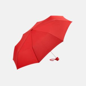 Kompaktparaplyer i aluminium med tryck
