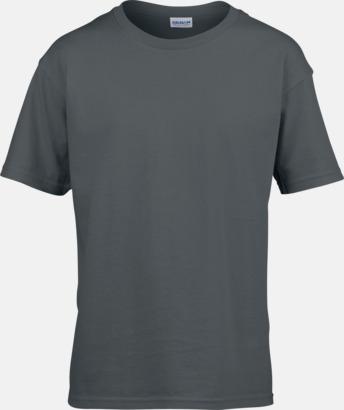 Charcoal (solid) Billiga t-shirts med reklamtryck