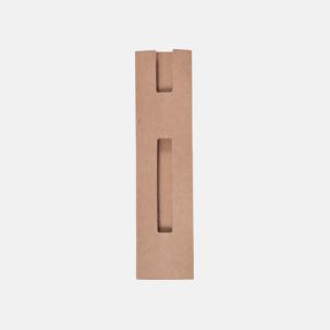 Pennfodral av återvunnen kartong - med reklamtryck