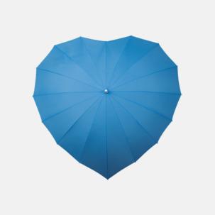 Hjärtformade paraplyer med eget reklamtryck