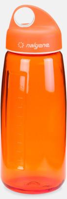 Orange Sportig vattenflaska med eget tryck