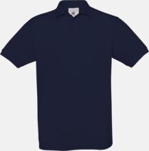 Kortärmade pikétröjor med egen brodyr