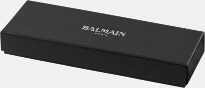 Presentförpackning Balmain-pennor 2-delars set med reklamlogo