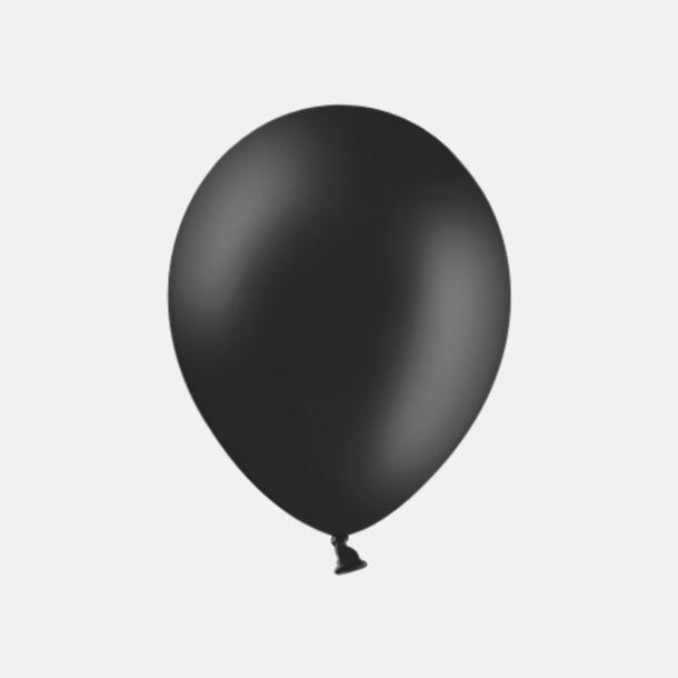 Black 025 Ballonger med tryck