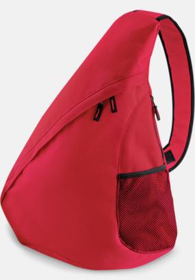 Classic Red Ryggsäck med en axelrem