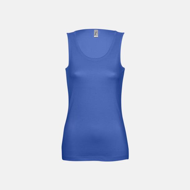 Royal Blue (Dam) Billiga linnen med tryck av egen logo