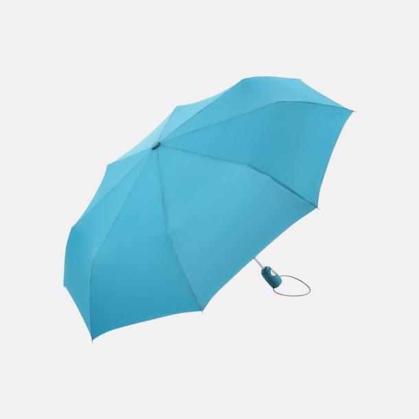 Petrol Kompakta paraplyer med eget reklamtryck