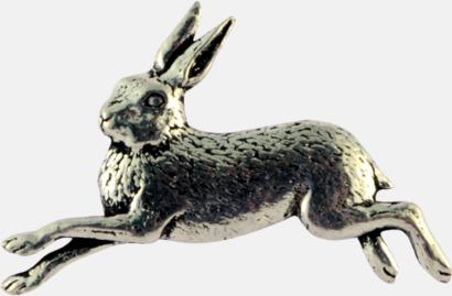 Hare Engelska, handgjorda broscher med jaktmotiv
