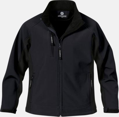 Svart (dam) Kvalitetsjackor i herr- & dammodell med reklamtryck